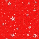 Seamless background with snowflakes. Royalty Free Stock Photography