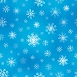 Seamless background snowflakes 1 Royalty Free Stock Photos