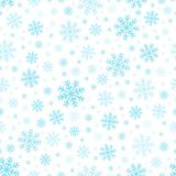 Seamless background snowflakes 3 Royalty Free Stock Photo