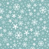 Seamless background snowflakes 5 Royalty Free Stock Image