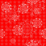 Seamless background with snowflakes for a festive mood Royalty Free Stock Photography