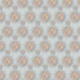 Seamless background with snowflakes Stock Photos