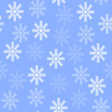Seamless background with snowflakes Stock Images