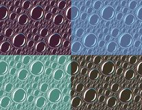 Seamless background with soap bubbles. Royalty Free Stock Photos