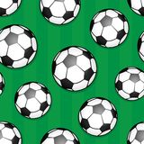 Seamless background soccer theme 1 Royalty Free Stock Photo