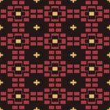 Seamless background southeast Asian retro aboriginal traditional. Art textile pattern brick cross check Royalty Free Stock Photography