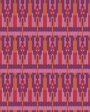 Seamless background southeast Asian retro aboriginal traditional. Art textile pattern cross frame line geometry Stock Images