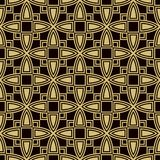 Seamless background southeast Asian retro aboriginal traditional. Art textile pattern curve square cross geometry Royalty Free Stock Image