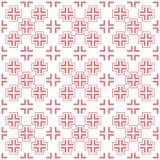 Seamless background southeast Asian retro aboriginal traditional. Art textile pattern pink cross geometry frame dot line Royalty Free Stock Image