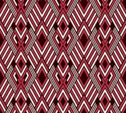 Seamless background southeast Asian retro aboriginal traditional. Art textile pattern polygon diamond check cross frame geometry Royalty Free Stock Images