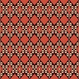Seamless background southeast Asian retro aboriginal traditional. Art textile pattern polygon geometry cross Royalty Free Stock Photography