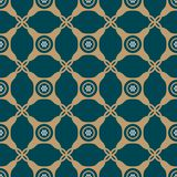 Seamless background southeast Asian retro aboriginal traditional. Art textile pattern round corner check cross dot frame Royalty Free Stock Photos