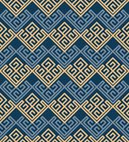 Seamless background southeast Asian retro aboriginal traditional. Art textile pattern square check spiral cross frame line Stock Photography