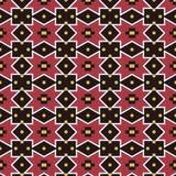 Seamless background southeast Asian retro aboriginal traditional. Art textile pattern star diamond check geometry dot flower Stock Photo