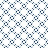 Seamless background southeast Asian retro aboriginal traditional. Art textile pattern triangle check cross geometry frame Royalty Free Stock Photos