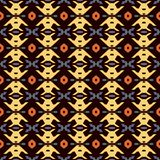 Seamless background southeast Asian retro aboriginal traditional. Art textile pattern polygon geometry cross Stock Images