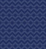 Seamless background southeast Asian retro aboriginal traditional. Art textile pattern check square dot line cross Stock Photography