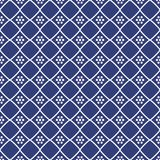 Seamless background southeast Asian retro aboriginal traditional. Art textile pattern check dot cross frame line Royalty Free Stock Photography