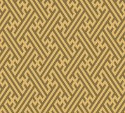 Seamless background southeast Asian retro aboriginal traditional. Art textile pattern geometry cross tracery frame line Stock Images