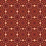 Seamless background southeast Asian retro aboriginal traditional. Art textile pattern round curve cross petals flower Royalty Free Stock Image