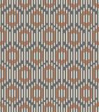Seamless background southeast Asian retro aboriginal traditional. Art textile pattern polygon geometry cross frame line Royalty Free Stock Photos