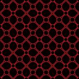 Seamless background southeast Asian retro aboriginal traditional. Art textile pattern curve cross frame flower Royalty Free Stock Images