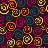 Seamless background from spirals Stock Photography