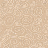Seamless background with spirals pattern Royalty Free Stock Image