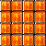 Seamless background from square glass Royalty Free Stock Image
