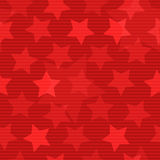 Seamless background with stars Stock Image