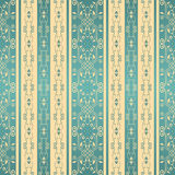 Seamless background with stripes for design in beige and blue colors Stock Image