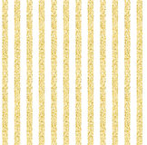 Seamless background with stripes of gold shining tinsel Royalty Free Stock Images