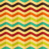 Seamless background with stripes in retro style Royalty Free Stock Image
