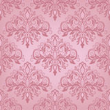 Seamless background in the style of Damascus. Damask seamless pattern for design. Vector Illustration vector illustration