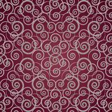 Seamless background with swirls Stock Photography
