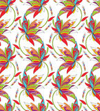 Seamless background for textile design Stock Photography