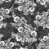 Seamless background for textile fabrics and cloths Stock Images