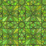 Seamless background texture in the form of kaleidoscope stained glass colorful. Vector illustration. Seamless background texture in the form of kaleidoscope Stock Image