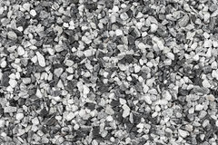 Seamless background texture of gravel Stock Image