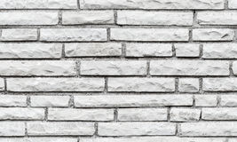 Seamless background texture of gray brick wall Royalty Free Stock Image