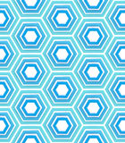 Seamless background texture made of hexagons Stock Photos
