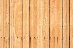Seamless background texture of new wooden wall Stock Images