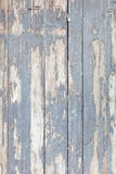 Seamless background texture of old white painted wooden lining boards wall Stock Photos