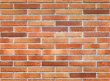 Seamless background texture of red brick wall Royalty Free Stock Images