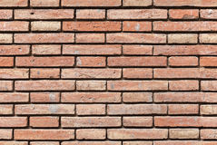 Seamless background texture of red brick wall Stock Photos