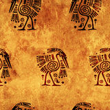 Seamless background with traditional patterns Royalty Free Stock Image