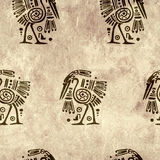 Seamless background with traditional patterns Royalty Free Stock Images