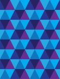 Seamless background of triangle & diamond geometri Stock Photography
