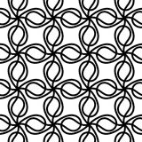 Seamless background twisted lines texture Stock Photo