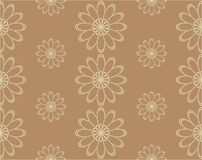 Seamless background in vector. Floral seamless backgrounds for design of fabrics and wallpapers in vector Royalty Free Stock Photos